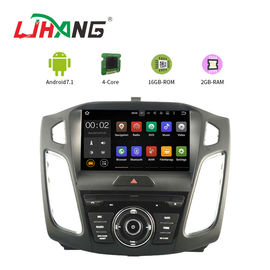 9 Zoll-Touch Screen Ford-Auto-DVD-Spieler Android 7,1 mit volle Eurokarten-on-line-Karte